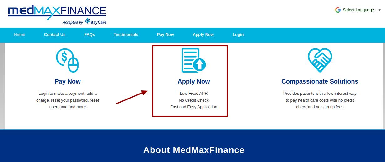medmaxfinance loan