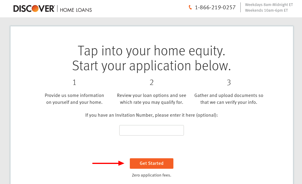 discover home equity loan apply